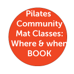Pilates Mat classes Timetable and venues