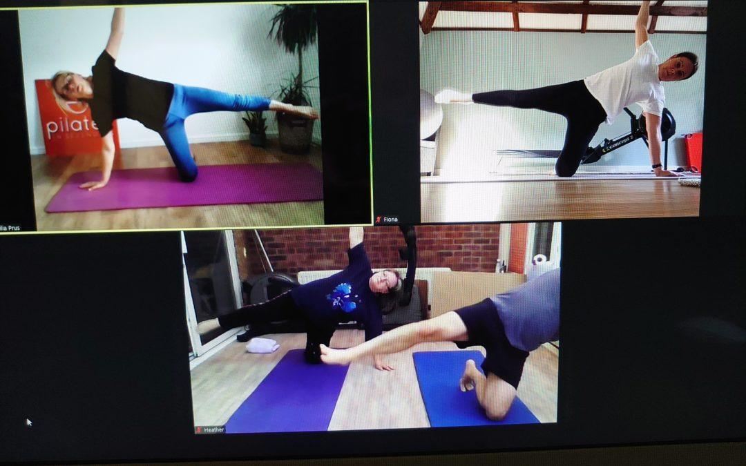LIVE ONLINE Dynamic Pilates Class